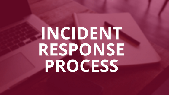 Incident Response Process Graphic